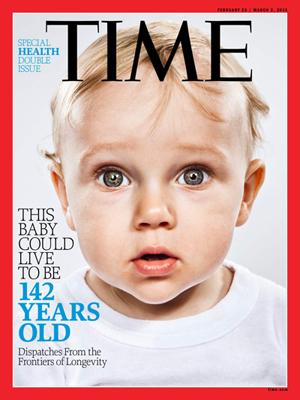 Один из февральских номеров журнала Time